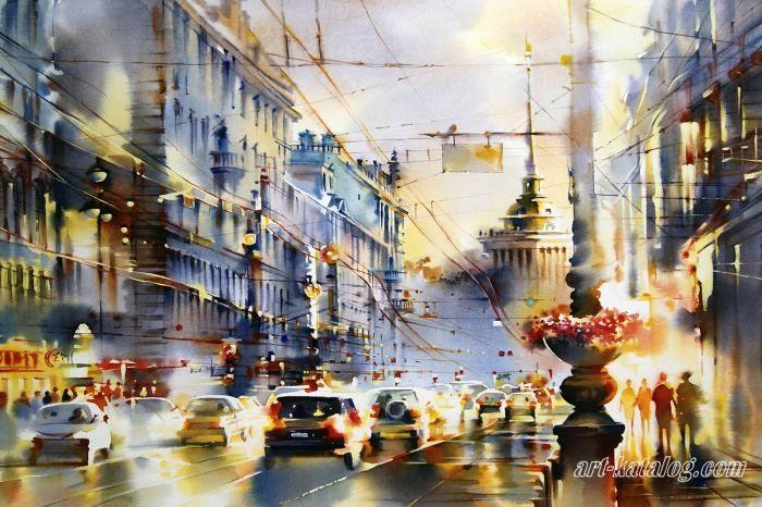 Огни Петербурга