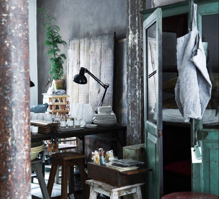 Cousins interior shop and café in downtown Copenhagen just behind the Torvehallerne.