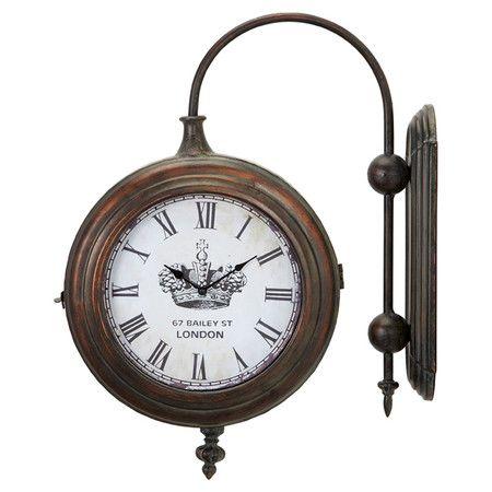 Found it at Wayfair - Winston Train Station Clock in Antique Brasshttp://www.wayfair.com/daily-sales/p/Bombay-Furniture-with-Global-Flair-Winston-Train-Station-Clock-in-Antique-Brass~BMBB1460~E13802.html?refid=SBP.rBAZEVQPTkyjyVmST9pwAsu_defJ_U4-uNvifOg8mSY