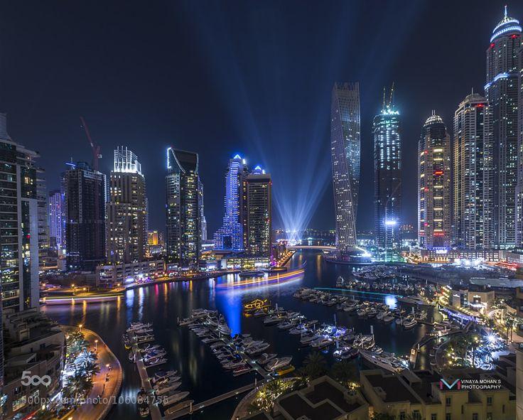 Dubai Marina by VinayaMohan