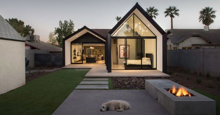 A contemporary update and extension for a 1930s home in Phoenix, Arizona | CONTEMPORIST  #Architecture