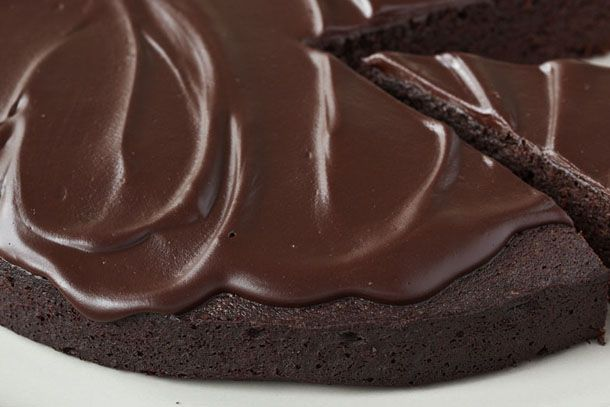 You're Sure to be Dad's Favorite with the Chocolate Tart with Salted Dark Chocolate Glaze Recipe