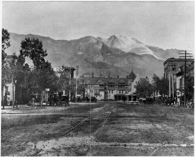 Downtown ~ Colorado Springs Colorado ~ 1890