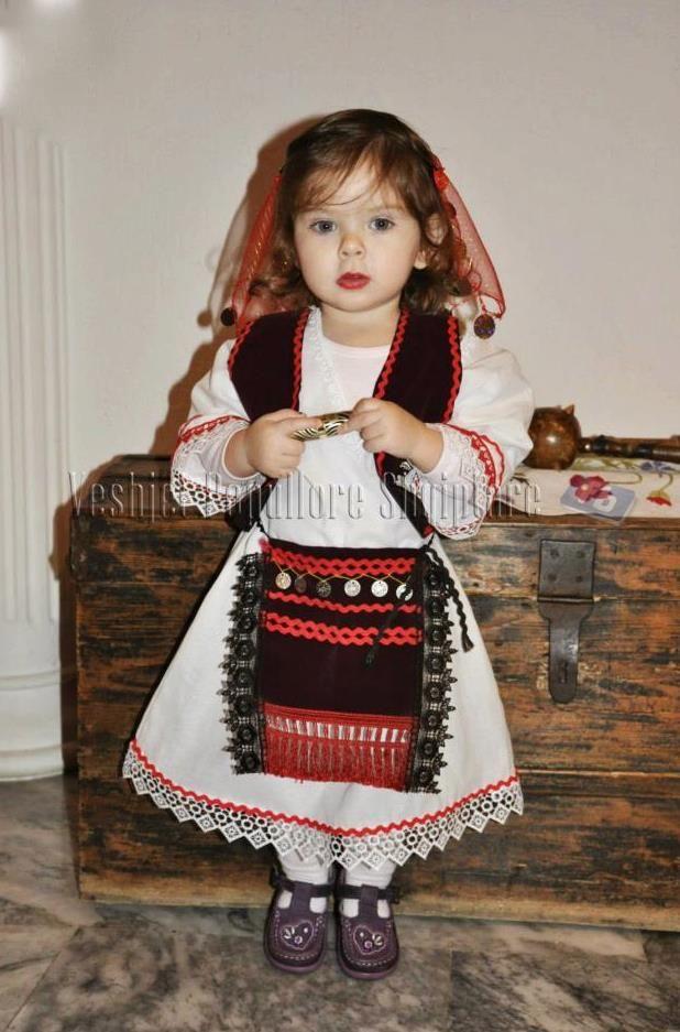 Albanian Traditional Costume Kids Outfits Albanian