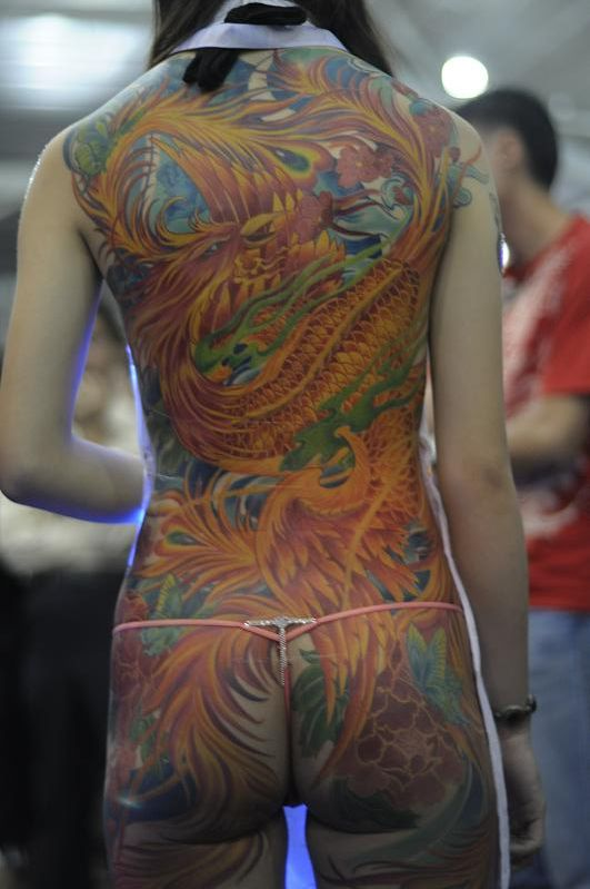 Awesome colorful dragon tattoo | Tattoos | Pinterest | Awesome, Dragon ...