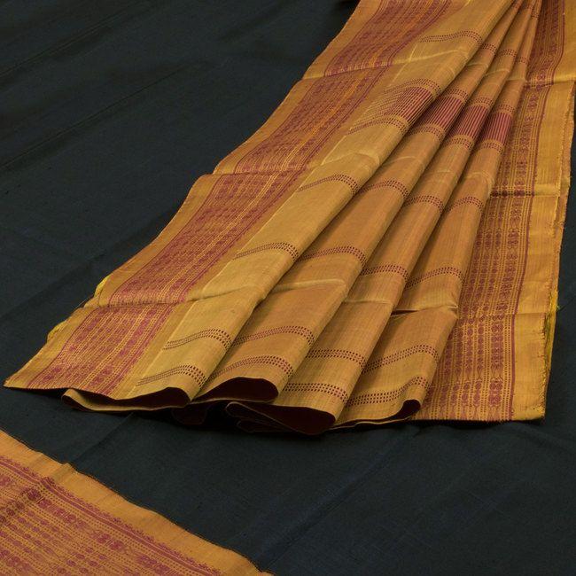 Sri Sagunthalai Silks Handwoven Korvai Kanchipuram Silk Saree 10002153 - AVISHYA.COM