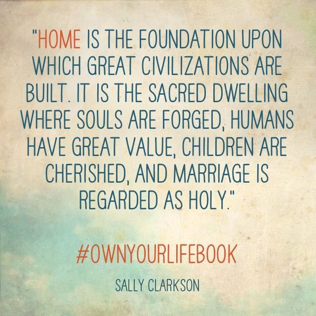 Own Your Relationships: Marriage, Parenting, Friendships and a Giveaway!  @sallyclarkson