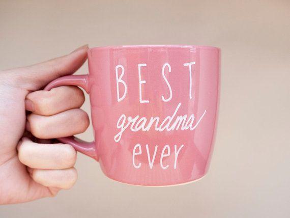 Best Grandma Ever Mug // Mothers Day Gift for Grandma