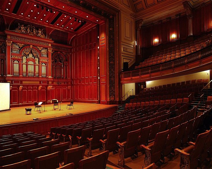 Jordan Hall, New England Conservatory in Boston, Massachusetts - Edmund M. Wheelwright, architect