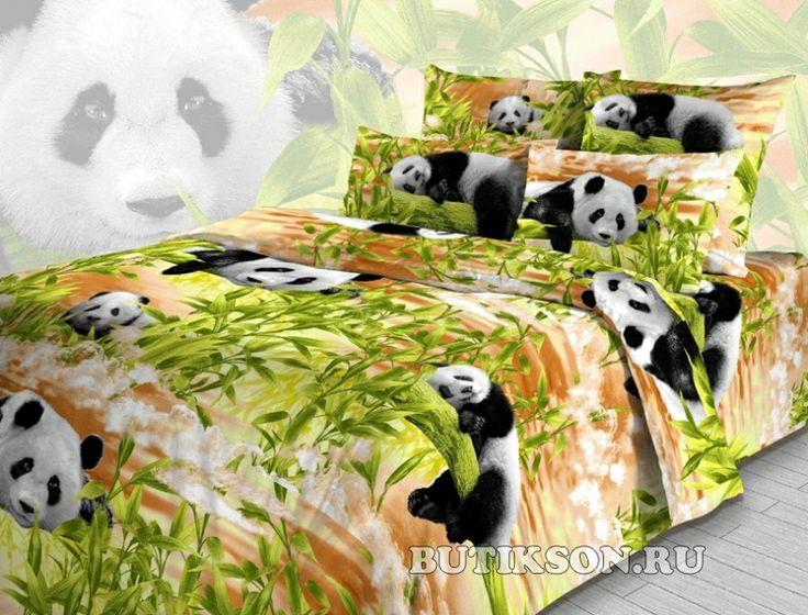 Бамбуковые Мишки вид 2 (бязь)