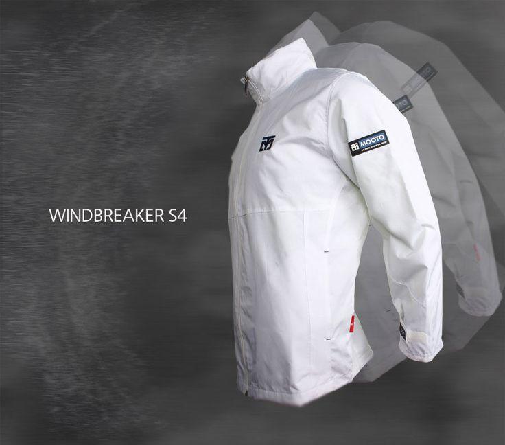 MOOTO Wind Breaker S4 White training sports wear Korean TaeKwonDo TKD uniforms #KZZANG