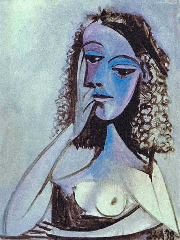 Pikaso,  Portret Nush Eluard