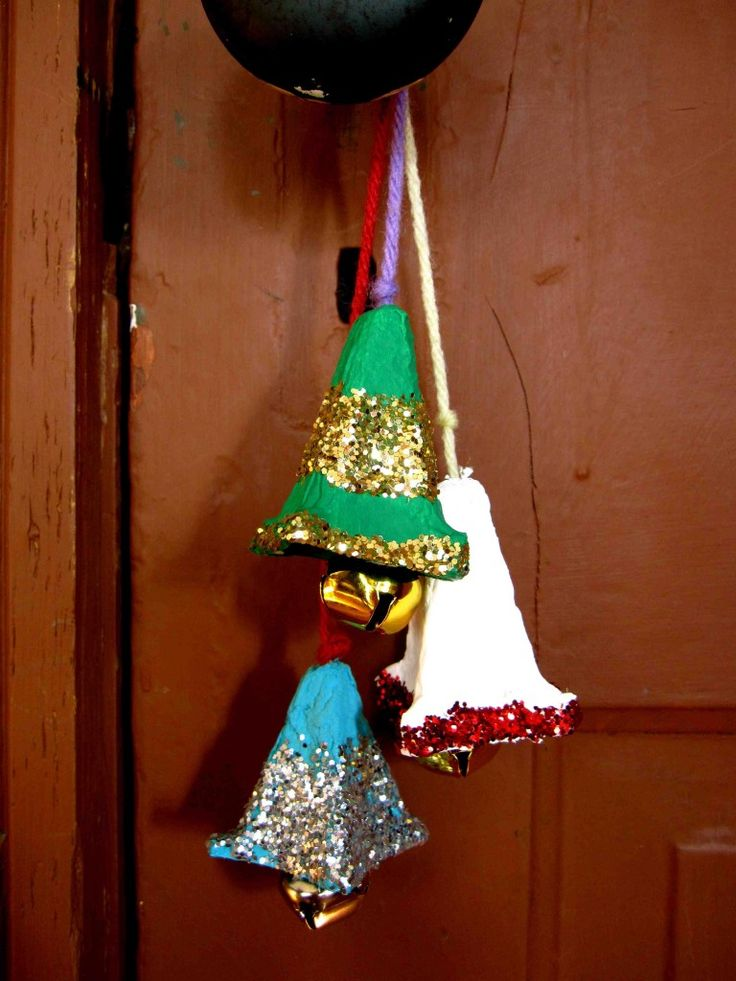 jingle bell craft ideas jingle bells made from egg cartons winter crafts 4777