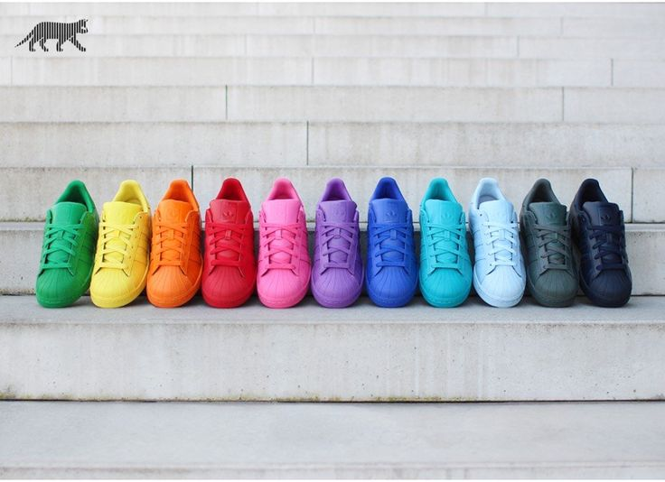 adidas x Pharrell Williams Superstar *Supercolor Pack* (