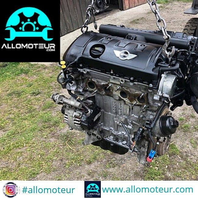 Moteur Complet Mini Cooper R56 1 6 16v 120 Cv N12b16a Boite De Vitesse Mini Cooper Moteur