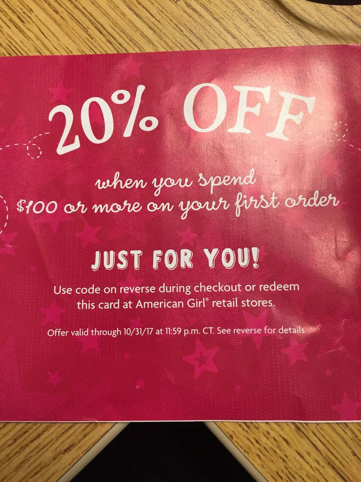 American Girl Doll Coupon Code 20% Off $100 + Exp 10/31 FAST SHIPPING