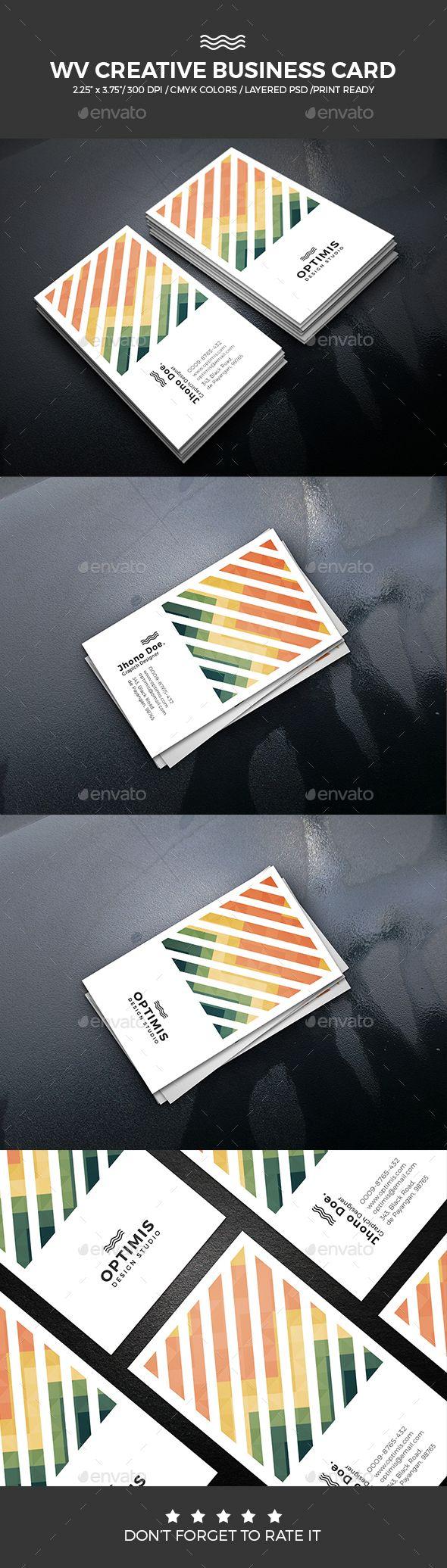 WV Creative Business Card