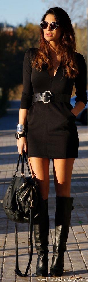 #Jag #Sleeves #Dress by Farabian