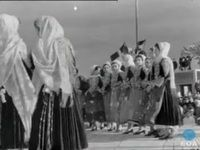 The fair of the Trata dance in Megara. 1969