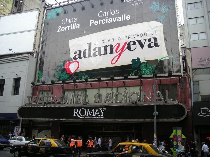 Teatro Romay,na Avenida Corrientes,a Broadway Porteña,Buenos Aires(AR).