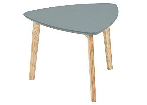 Dreieckiger Couchtisch Beistelltisch Tisch Wohnzimmertisch Salontisch Sofatisch Kaffeetisch Clubtisch