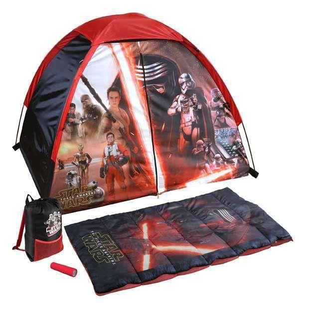 Star Wars Sleeping Bag Kids Explorer Camp Indoor Camping Sleep Over Lightsaber  #Wenzel