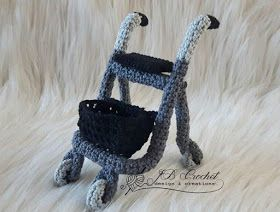JB Crochet Design & Creations: Haakpatroon rollator