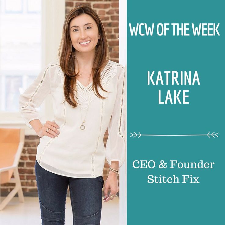 This week our #wcwoftheweek is Katrina Lake, founder and CEO of Stitch Fix, the online personal styling service that does an estimated $500 million-plus in revenue and could be an IPO candidate in the next year or two. #wcwpodcast #podcasters #wcw #welovewednesdays #entrepreneurship #businesswomen #womenentrepreneurs #womenempowermemt #femalefounders #thefutureisfemale #stitchfix #crushonyou #fashion #ecommerce #onlinebusiness