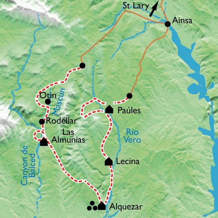 Tour de la Sierra de Guara - La Balaguère