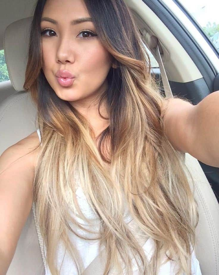 Top 20 Dreamy Hair Color Ideas For Asian Women Hairstylecamp Hair Color Asian Blonde Asian Hair Asian Hair