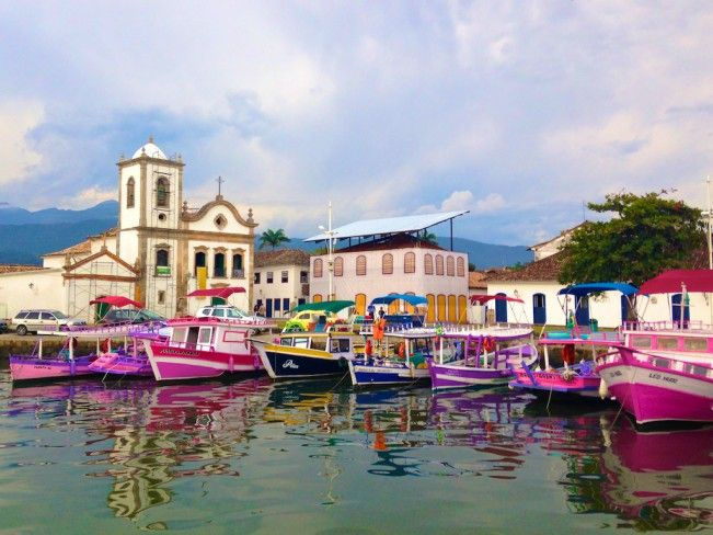 Barcos em Paraty - Rio de Janeiro                                                                                                                                                     Mais