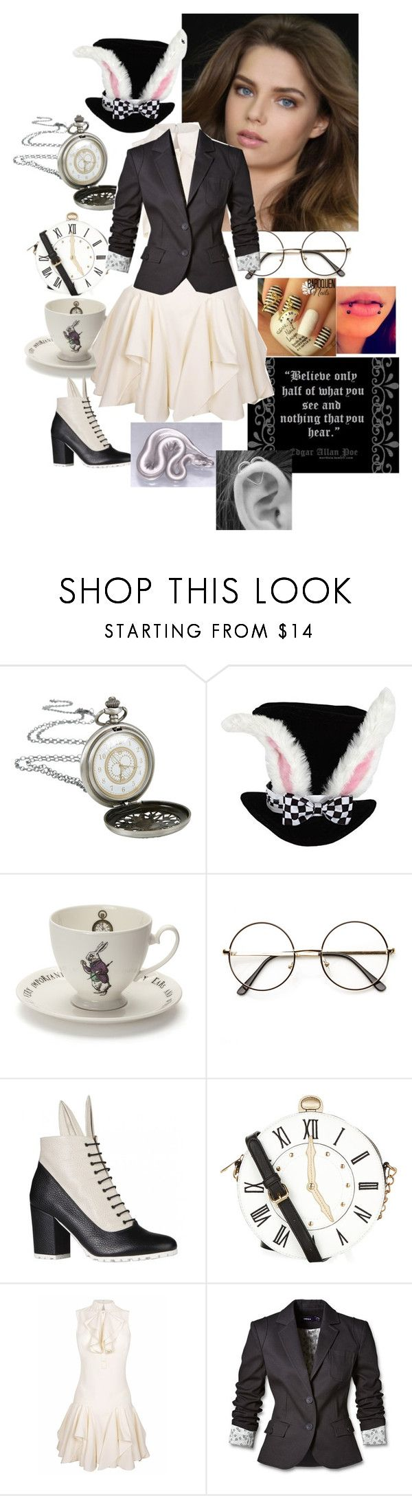 """""""Alexis Outfit #4"""" by jakela778 ❤ liked on Polyvore featuring Disney, Mrs Moore, ZeroUV, Minna Parikka, Accessorize and Mexx"""