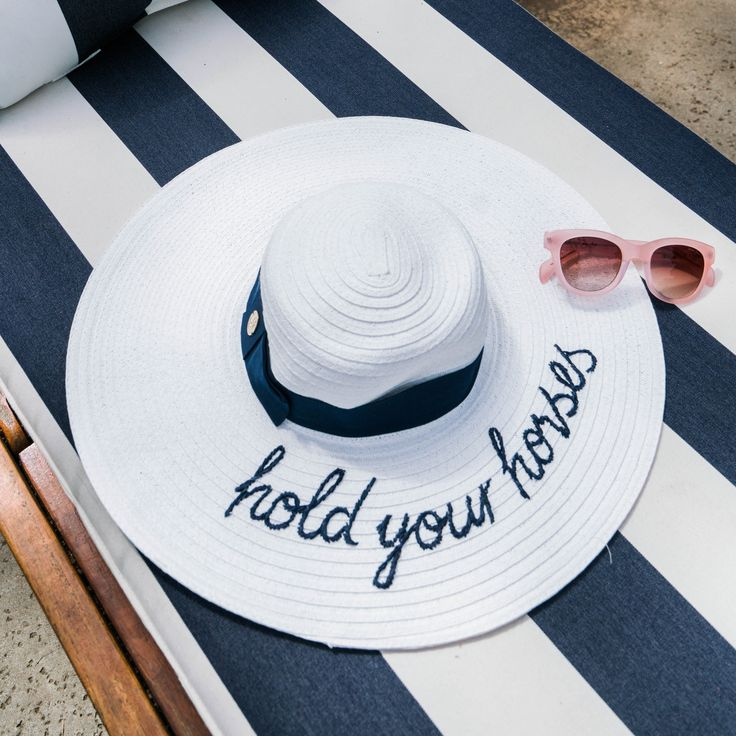 Hold your horses... and your new #Derby hat!