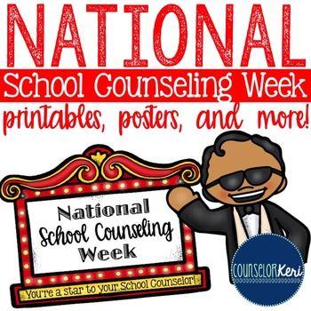 National School Counseling Week Printables -... by Counselor Keri   Teachers Pay Teachers