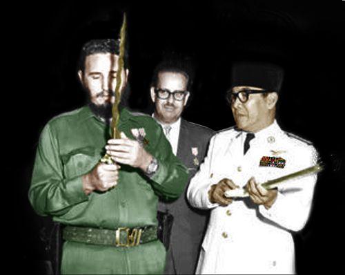 SOEKARNO ADALAH GURU FIDEL CASTRO ~ Presiden Soekarno