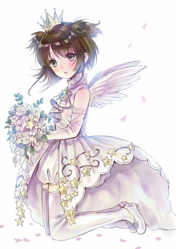 """""""A Magical Girl's Birthday"""" Cardcaptor Sakura fanart by hanekoto #Cardcaptor Sakura #anime"""