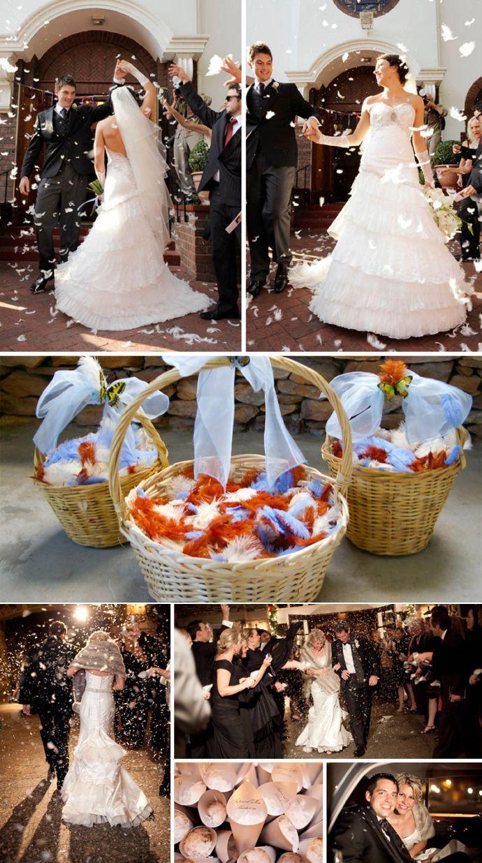 Superb Unique Wedding Confetti Ideas