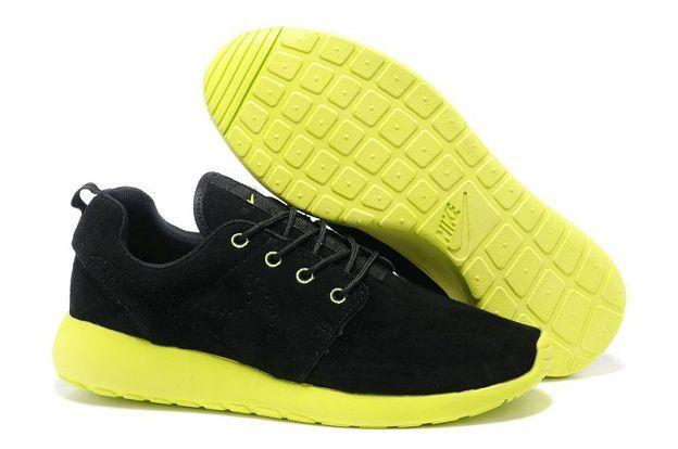 Nike Roshe Run Black - Motion Green Men