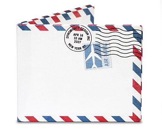 nz $35 Mighty Airmail Tyvek Wallet at ChoiceWallet.com the worlds best wallet shop.