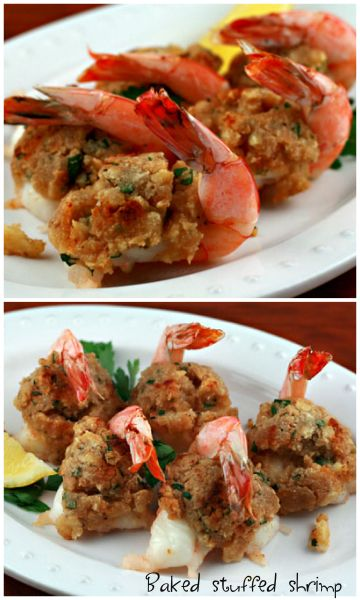 Looking for a holiday recipe the entire #family will love? Try this #Baked Stuffed #Shrimp recipe at your next gathering!