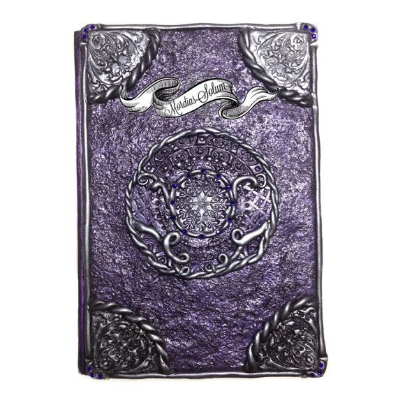 Occult Purple Witch Book Fantasy Magic Circle by MordiasSolum