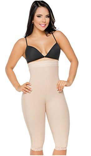Fajas Colombianas Salome 0219 Levanta Cola Invisible Strapless Butt Lifter Beige M:   Look gorgeous with the best girdles for women and get the silhouette you always dreamed of. /bbrbr This strapless body shaper is part of Fajas Salome's shapewear for women collection, which comprises different types of shapewear bodysuits that comfortably reduce inches off your waist and stomach, and lift your buttocks at the same time. This braless shapewear model provides control in tummy and thighs...