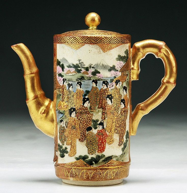 17 Best Images About Satsuma Ware On Pinterest Antiques