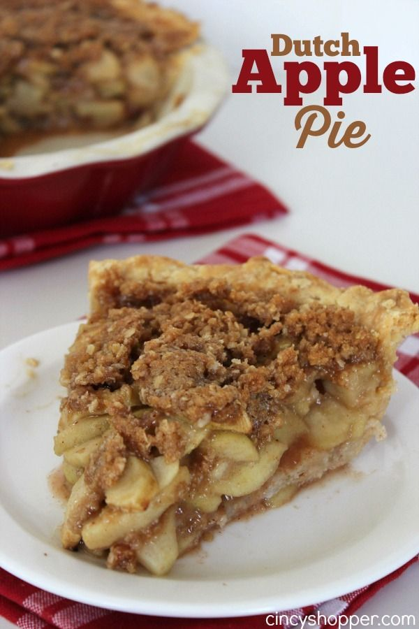 If you are looking to make a Apple Pie look no further as this Dutch Apple Pie Recipe will be perfect. Last week my daughter and I enjoyed a nice dinner tog