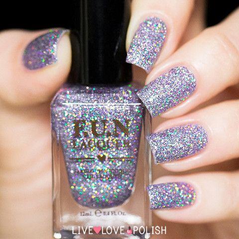 Fun Lacquer The Art of Sparkle (H)   Live Love Polish