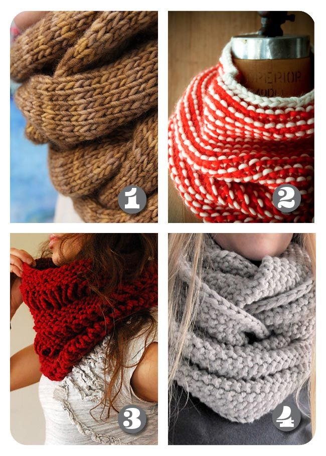 Free Knitted Cowl Patterns