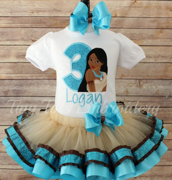 Check out this item in my Etsy shop https://www.etsy.com/listing/277330664/pocahontas-tutu-outfit-ribbon-tutu