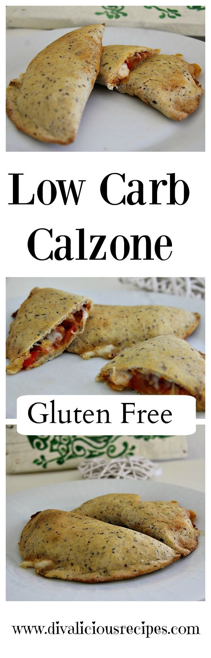 A low carb calzone dough recipe that is easy to make and a healthier option. Made with coconut flour and psyllium husk powder this is gluten free too.
