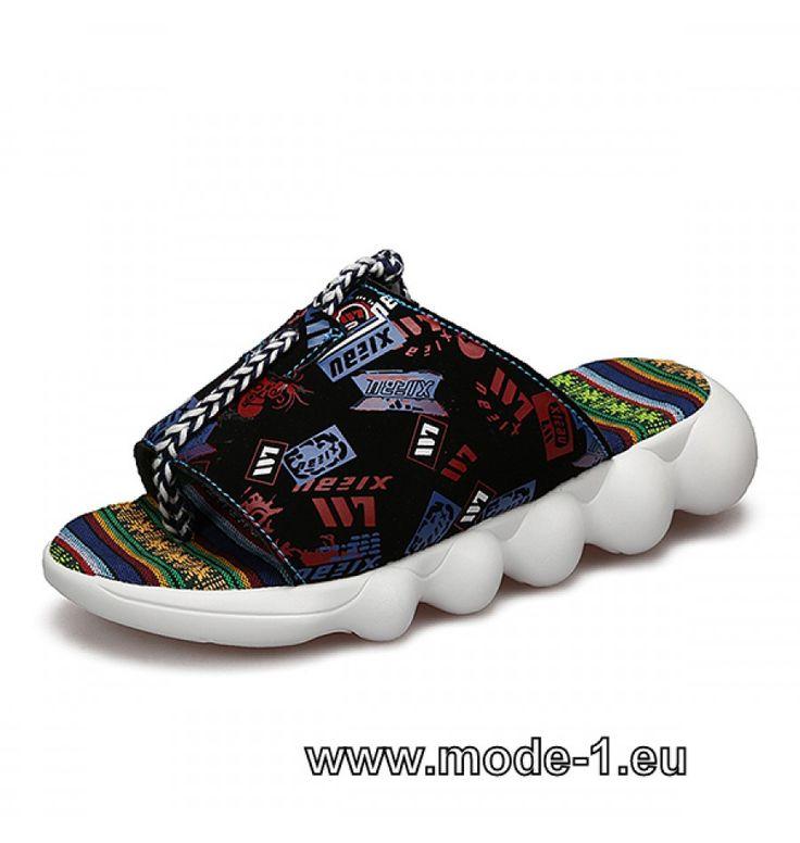 Unisex Sommer Slippers Bunt