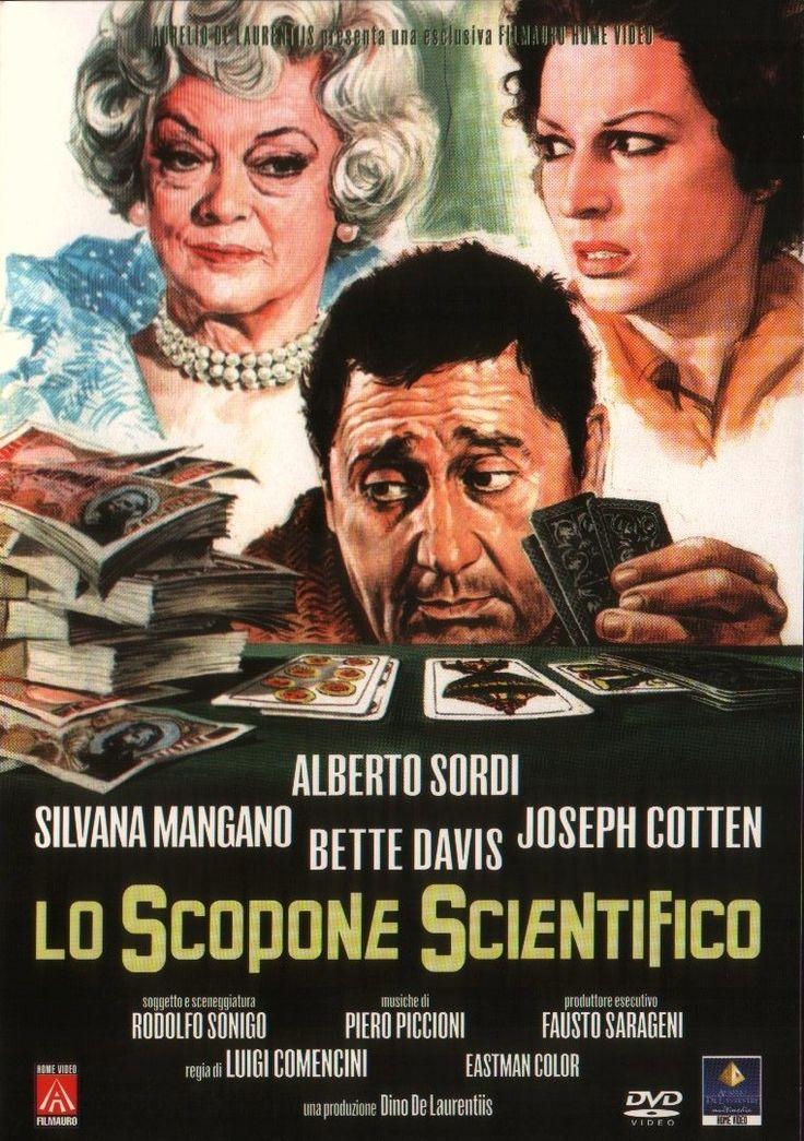 Lo scopone scientifico (1972) (The Scientific Card Player) Stars: Alberto Sordi, Silvana Mangano, Joseph Cotten, Bette Davis, Mario Carotenuto ~  Director: Luigi Comencini